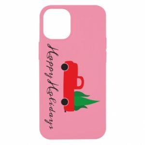 Etui na iPhone 12 Mini Happy Holidays!