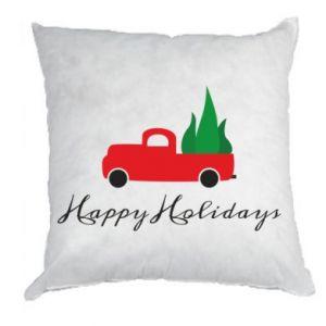 Poduszka Happy Holidays!