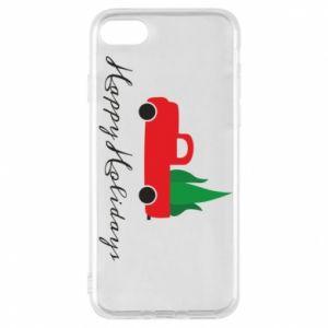 Etui na iPhone 7 Happy Holidays!