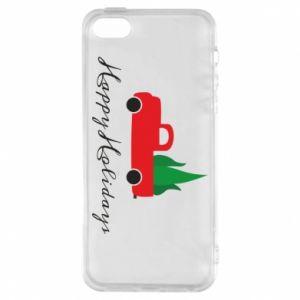 Etui na iPhone 5/5S/SE Happy Holidays!