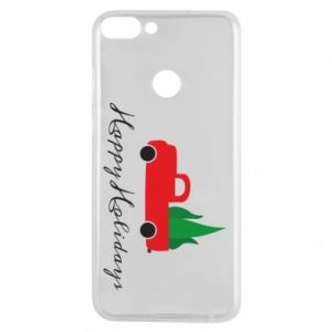 Phone case for Huawei P Smart Happy Holidays!