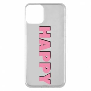 Etui na iPhone 11 Happy inscription