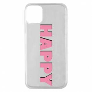 Etui na iPhone 11 Pro Happy inscription