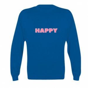 Bluza dziecięca Happy inscription
