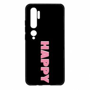 Etui na Xiaomi Mi Note 10 Happy inscription