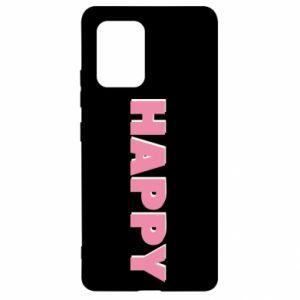 Etui na Samsung S10 Lite Happy inscription