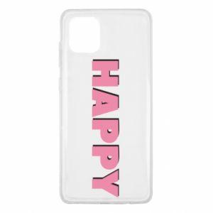 Etui na Samsung Note 10 Lite Happy inscription