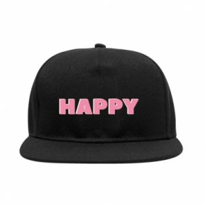 Snapback Happy inscription
