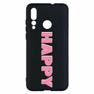 Etui na Huawei Nova 4 Happy inscription