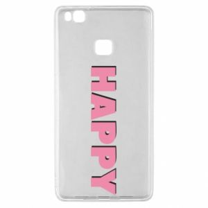 Etui na Huawei P9 Lite Happy inscription