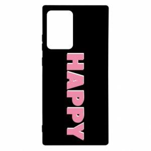 Etui na Samsung Note 20 Ultra Happy inscription
