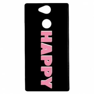 Etui na Sony Xperia XA2 Happy inscription