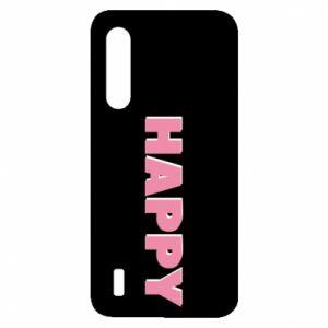Etui na Xiaomi Mi9 Lite Happy inscription
