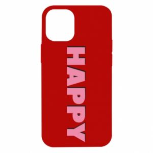 Etui na iPhone 12 Mini Happy inscription