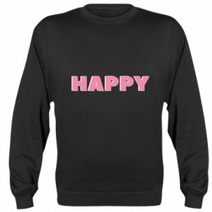 Bluza (raglan) Happy inscription