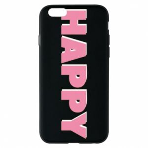 Etui na iPhone 6/6S Happy inscription