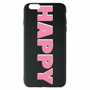 Etui na iPhone 6 Plus/6S Plus Happy inscription
