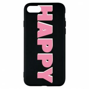 Etui na iPhone 8 Happy inscription