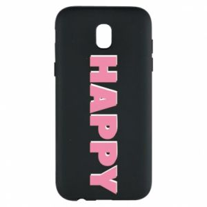 Etui na Samsung J5 2017 Happy inscription