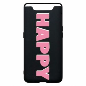 Etui na Samsung A80 Happy inscription