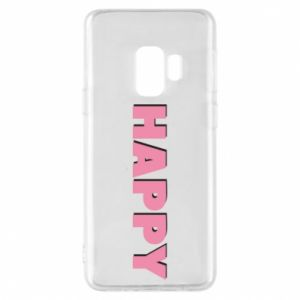 Etui na Samsung S9 Happy inscription