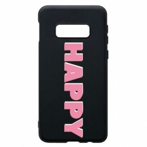 Etui na Samsung S10e Happy inscription