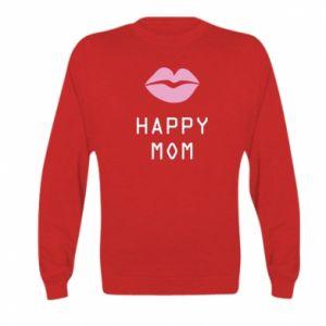 Kid's sweatshirt Happy mom