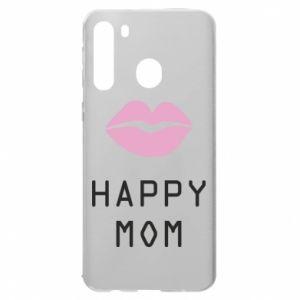 Samsung A21 Case Happy mom