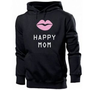 Men's hoodie Happy mom - PrintSalon