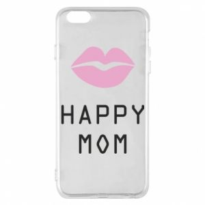 Phone case for iPhone 6 Plus/6S Plus Happy mom - PrintSalon