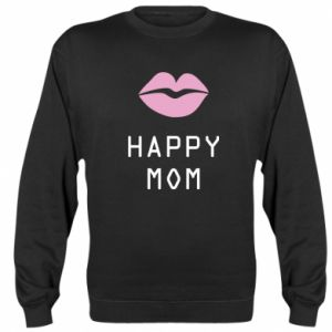 Sweatshirt Happy mom - PrintSalon