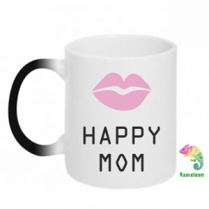 Chameleon mugs Happy mom - PrintSalon