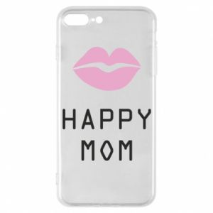 Phone case for iPhone 7 Plus Happy mom - PrintSalon