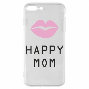 Phone case for iPhone 8 Plus Happy mom - PrintSalon
