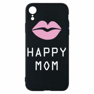 Phone case for iPhone XR Happy mom - PrintSalon