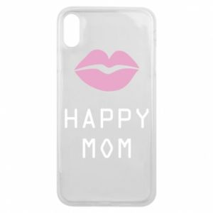 Phone case for iPhone Xs Max Happy mom - PrintSalon