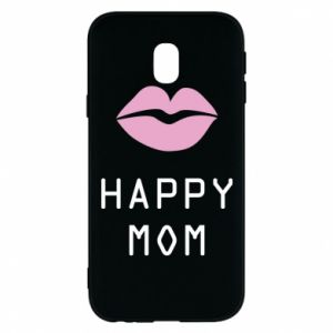 Phone case for Samsung J3 2017 Happy mom - PrintSalon
