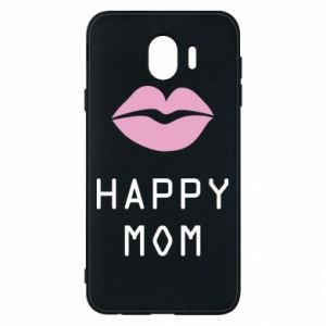 Phone case for Samsung J4 Happy mom - PrintSalon