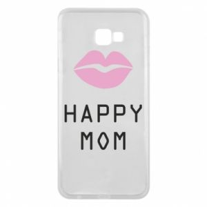 Phone case for Samsung J4 Plus 2018 Happy mom - PrintSalon