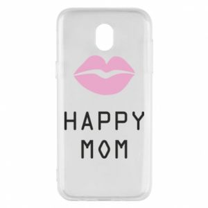 Phone case for Samsung J5 2017 Happy mom - PrintSalon