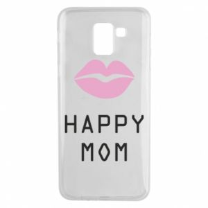 Phone case for Samsung J6 Happy mom - PrintSalon