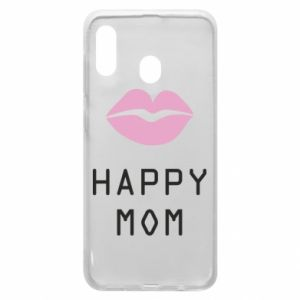 Phone case for Samsung A20 Happy mom - PrintSalon