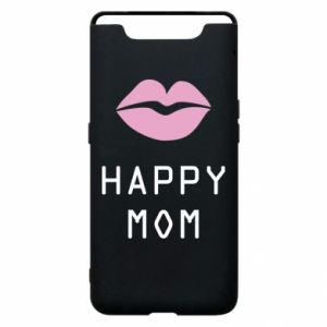 Phone case for Samsung A80 Happy mom - PrintSalon
