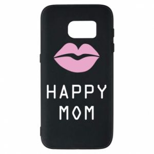 Phone case for Samsung S7 Happy mom - PrintSalon