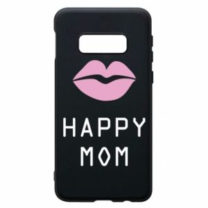 Phone case for Samsung S10e Happy mom - PrintSalon