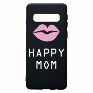 Phone case for Samsung S10 Happy mom - PrintSalon