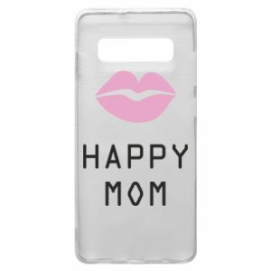 Phone case for Samsung S10+ Happy mom - PrintSalon