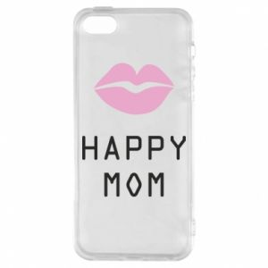 Phone case for iPhone 5/5S/SE Happy mom - PrintSalon
