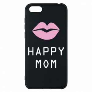 Phone case for Huawei Y5 2018 Happy mom - PrintSalon