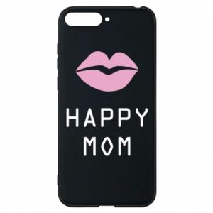 Phone case for Huawei Y6 2018 Happy mom - PrintSalon